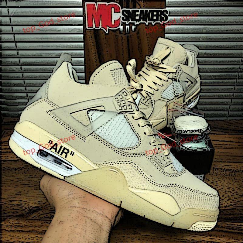 Nike AJ4 وصول جديدة موالية الأزرق شراع كوس Jumpman 4 فون 4S الرجال أحذية كرة السلة رابتورز للأسمنت الأبيض البديل موتورسبورت شقي ولدت أحذية رياضة المرأة