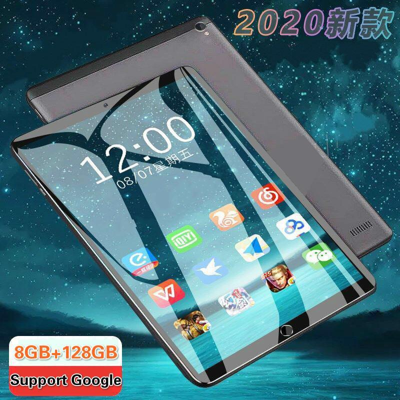 2020 Hight 128G Global Bluetooth Wifi Android 9.0 10.1 Inch Tablet Octa Core 6GB RAM 128GB ROM Dual SIM Cards Tablet 10