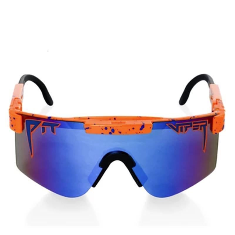 The 1993 Pollarized Dupla Wide Pit Viper Sunglasses Esportes Esportes Ao Ar Livre Esqui Óculos 70% OFF À VENDA NX8D