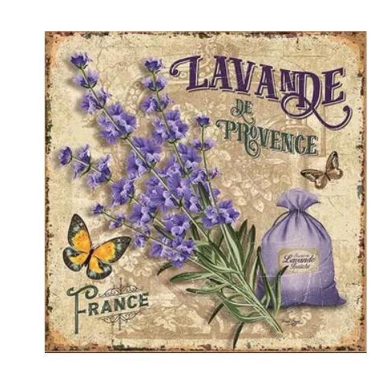 5D Diamond Painting Flower Diamond Embroidery Mosaic lavender Daimond painting Full drill Rhinestone Diamant home Decor