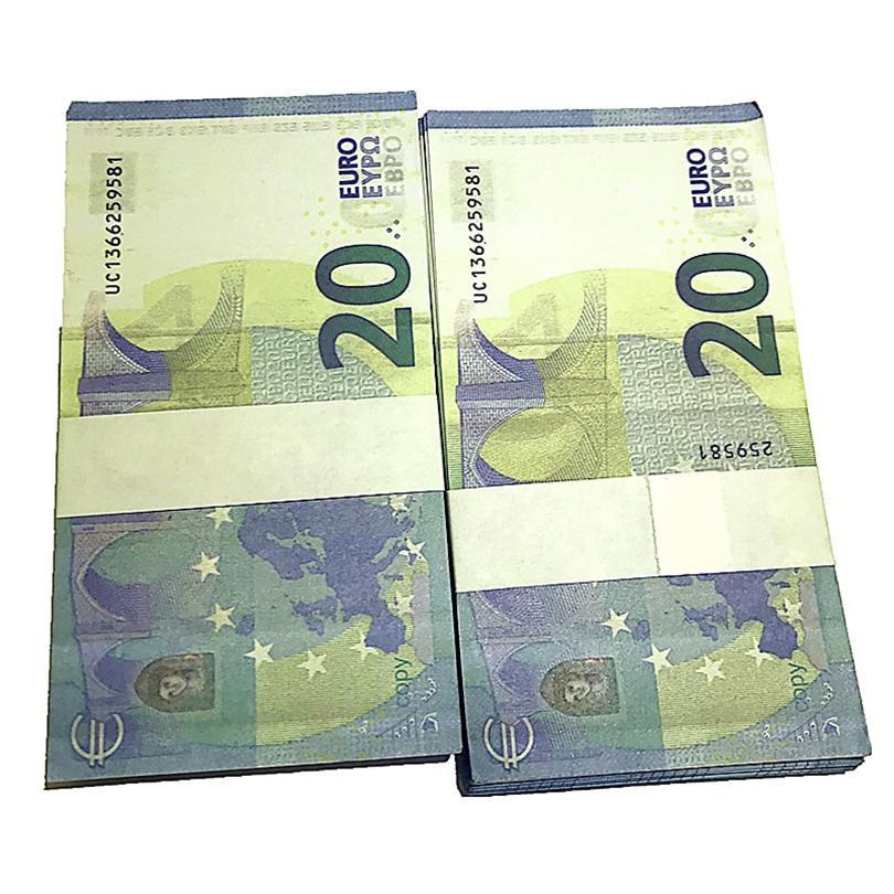 Simulación XLGBN Dólar Euro Juego Libra DIY PROP BANTEZO 85 Simulación Sterling Niños Moneda Moneda Billete Billete de Banco Prop UMWDE