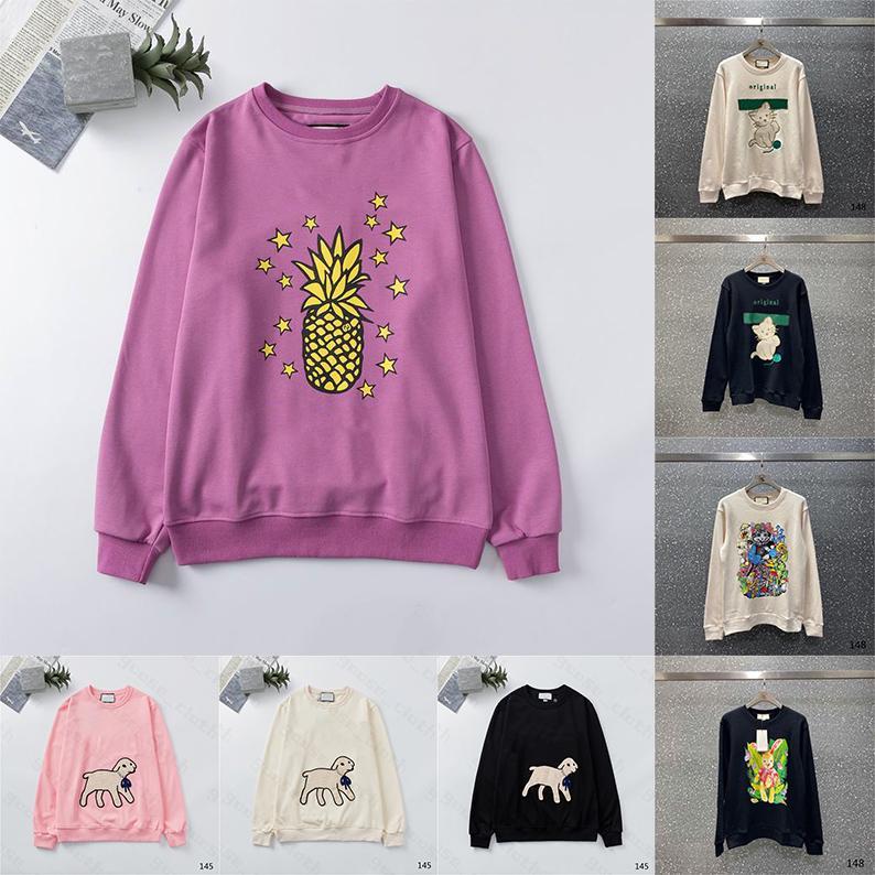 2021 Yeni Bayan Erkek Tasarımcılar Hoodies Moda Hoodies Kış Adam Uzun Kollu Ter Kazak Kapüşonlu Kazak Giyim Kazak 21ss