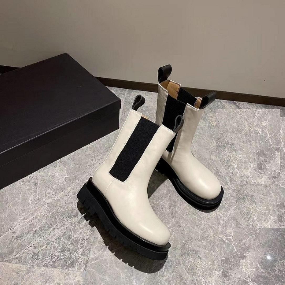 Bottega Veneta boots sso PROGETTISTA Cuir Classique Couverture matelassée Couleur Couleur Couleurs Casual antidérapant et résistant à l'usure 1: 1 haute qualité