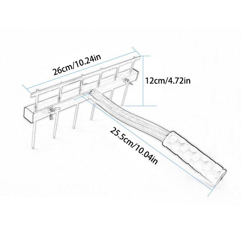 Tile Ash Leveler Floor Leveling Tool Mortar Target Pro Mason Accessory