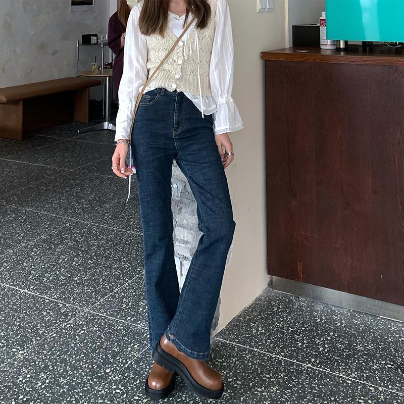 Jeans Femme taille haute Wide Leg Denim Jeans lâche Vintage Mom Plus Size boyfriend Streetwear Casual Pantalons Pantalons pour femmes