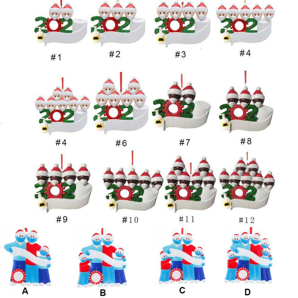 FactoryW37CDécoration Produit Anniversaires Personnalisé Party Famille cadeau de Noël de 2 à 7 pendentif ornement avec visage ma
