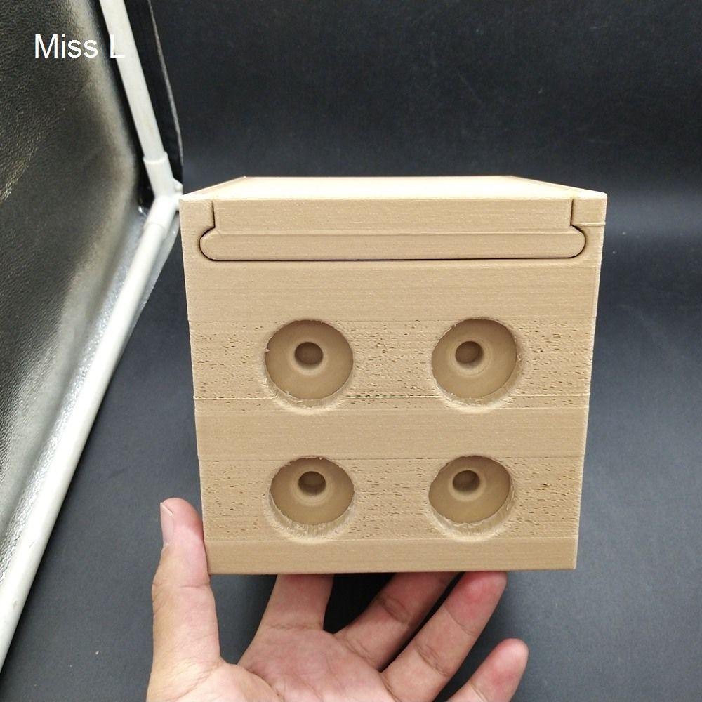 13 * 13 * 13 سم السري مربع الدماغ دعابة لعبة هدية الذكاء هواية المقتنيات لغز لعبة pla المواد