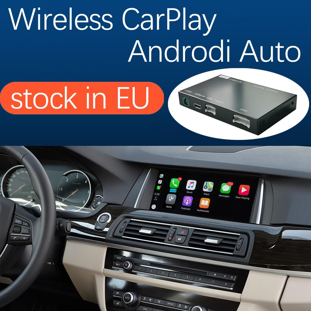 Wireless CarPlay Interface for BMW 5 7 Series Car F10 F11 F07 GT F01 F02 F03 F04 2009-2016, with Android Auto Mirror Link AirPlay