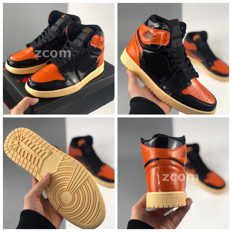 2021 New 1 High OG Shattered Backboard 3.0 여성을위한 농구 신발 여성 망 트레이너 운동화 jumpman 1s des chaussures Zapatos 36-45