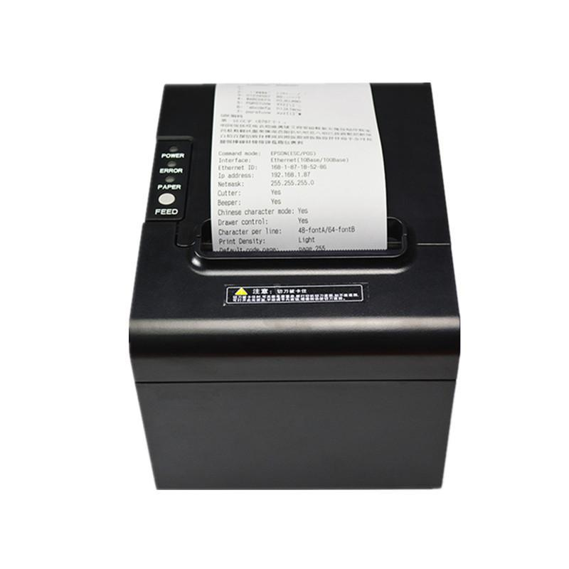 RP325 Catering Supermarket Retail Payment Cash Register 80 MM Thermal Receipt Printer USB Network Port Auto Paper Cutting