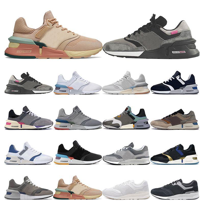 all'aperto scarpe da uomo di moda d'epoca fredda non nativi grigio No Bad Days Marrone Beige DONNA UOMO allenatore sportivo Sneakers camminare fare jogging