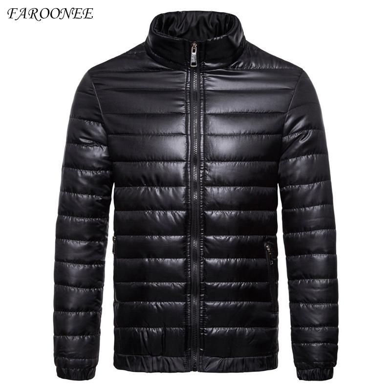 Down jacket Men High Quality Warm Casual Thick Coat Parka Men Slim Warm Outside Down Jacket Christmas Gift Men Winter Jacket 201022