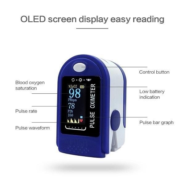Heißer Verkaufsfinger-Blut-SpO2-Pulsoximeter-Fingerspitzen-Impulsoximeter