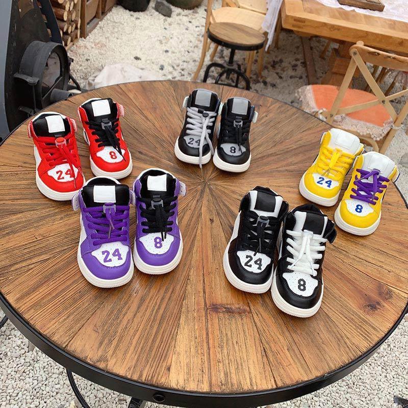 AJ1 Baby Mädchen Jungen Kleinkind Souvenir Edition Schuhe Kinder Schuhe Kinder Jungen und Gril Kinder Sneaker Leichtathletik Basketballschuhe
