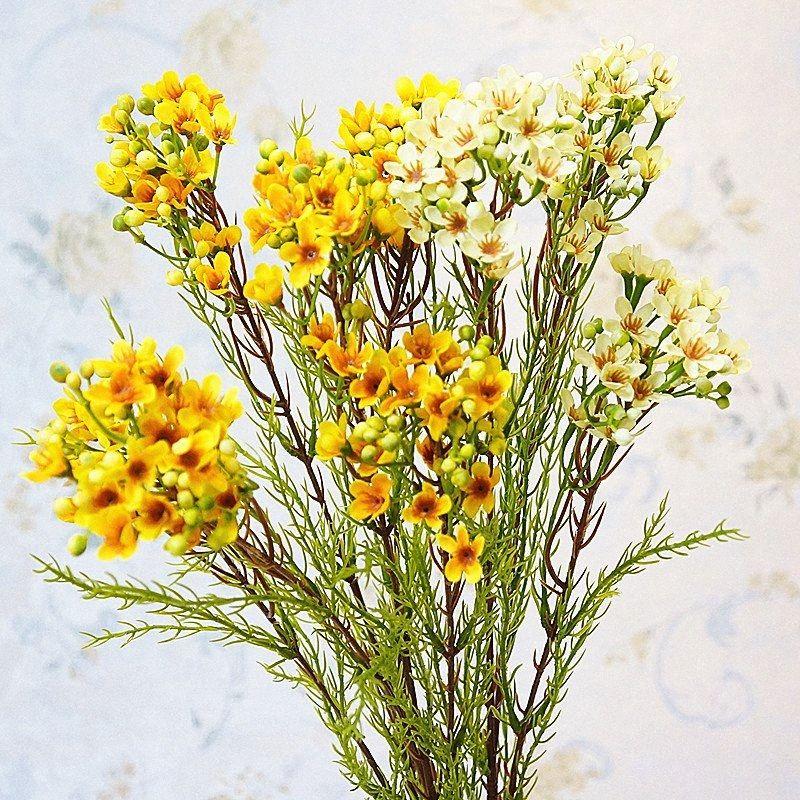Длинный стебель австралийский Lamei цветок филиал шелка Искусственные цветы для украшения падения венчания партии Flores artificiales RyvL #