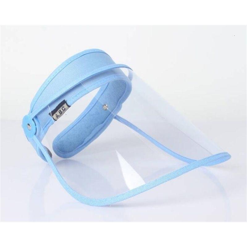 Лицом против пыли, загрязненная крышка полная шляпа защитная прозрачная крышка козырек щит