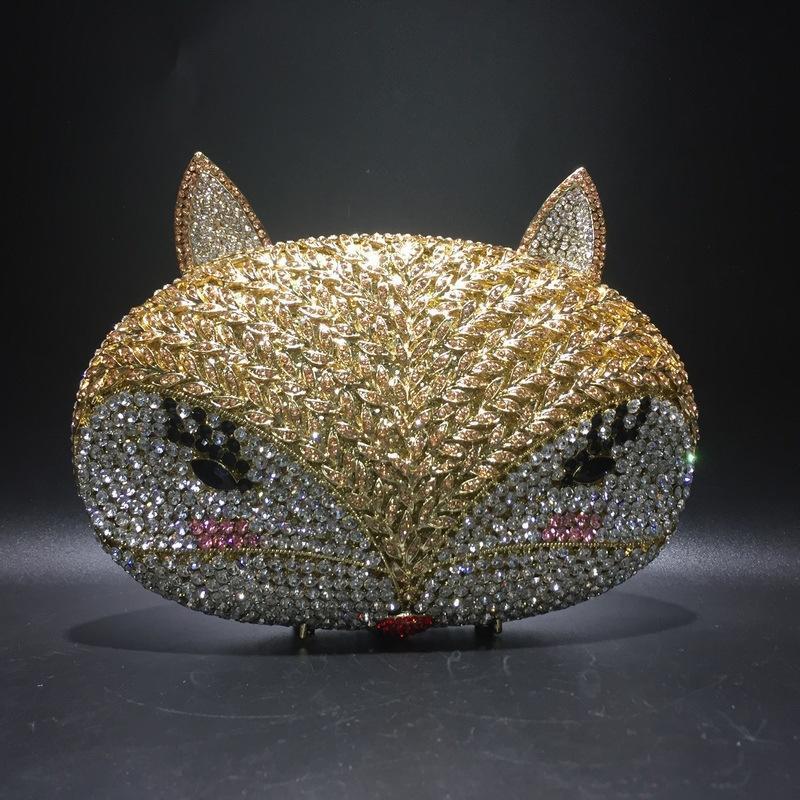 ouro do sexo feminino strass cristal embreagens noite sacos bolsas casamento nupcial Moda Clutch bolsas elegantes Bolsas Lady Jantar Prom