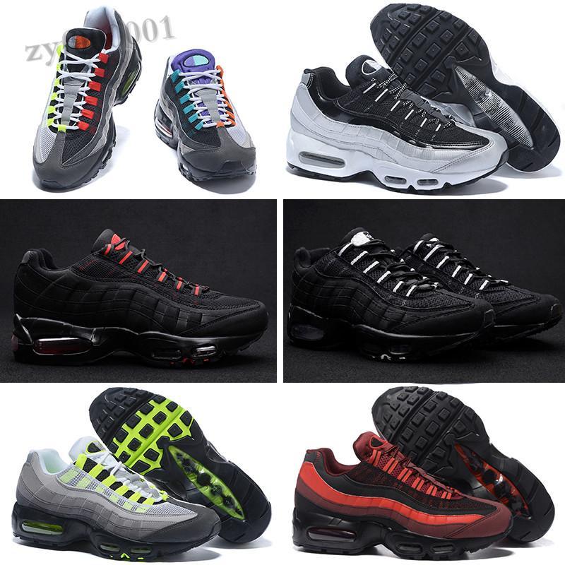 MAX 95 2018 Men 95 OG Cushion Navy Sport de alta calidad ChaussureMen Casual Shoes 95 Sneakers Tamaño 40-46