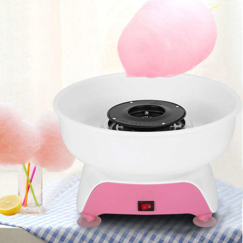 Мини Candy Floss Maker Бытовых Дети DIY Сахар зубочистка Машина 220-240 Processor Kitchen Gadgets