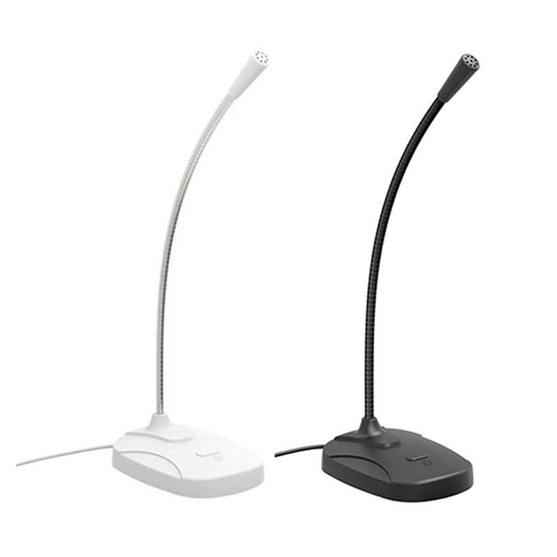 Microphone omnidirectionnel Haute sensibilité USB micro USB pour ordinateur de bureau / ordinateur portable / ordinateur / ordinateur portable accessoires