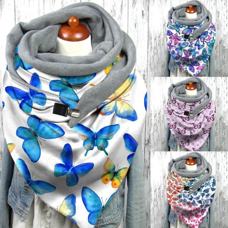 damas nueva marca de diseñador mujeres sólido bufanda moda retro hembra multiciputado shal bufanda 2020 bufandas mujeres foulard femme