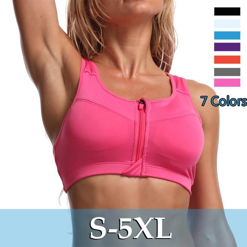 Kadınlar Gym Yüksek Etkili Sütyen Kadın Spor Racerback Egzersiz Bralette Running için spor Bras Kadınlar Yoga Üst Spor Bra