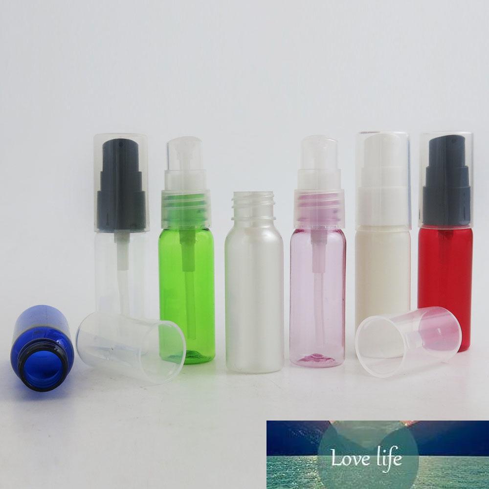 20ml nachfüllbare Plastic Clear Blue white Red Green Bottle Pump Gesichtsreiniger Flüssigseifenspender Schaumcreme Lotion Flasche