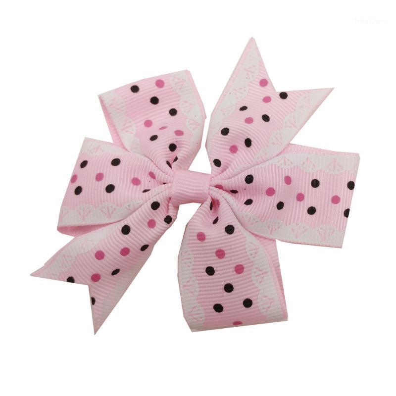 Toddler Baby Girl Dots Bownot Hairpin Cute Headwear Candy Color Buckle Hair Accessories For Chld Kids Girls Harisgrips1