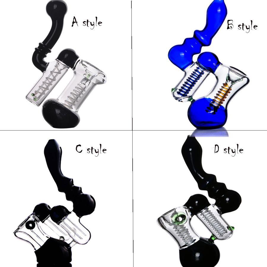 Disponibile Pyrex Glass Bruciatore di olio Tubo Acqua Bongs Bangs Vetro Tubi da fumo di fumo Acqua di vetro Bongs Sigaretta Accessori per fumo Accessori Tabacco