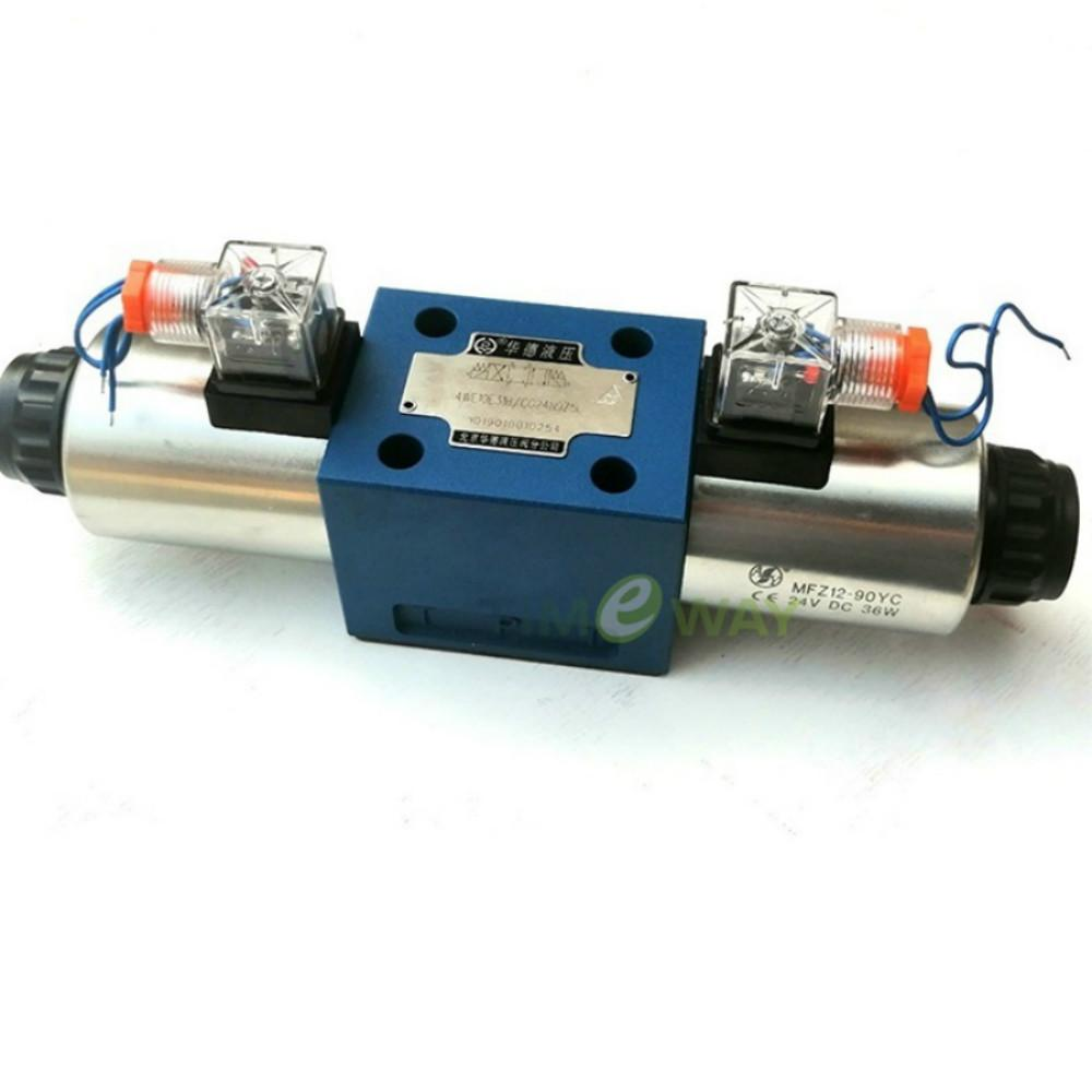 Valvola a solenoide Huade 4WE10G31B / CG24N9Z5L valvola idraulica