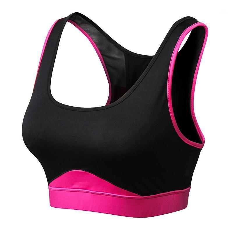 Тренажерный зал одежда фитнес спортивный бюстгальтер женщины быстро сухой дышащий Йога бак верхняя бегущая мягкая энергия бесшовные спортивные Femme1