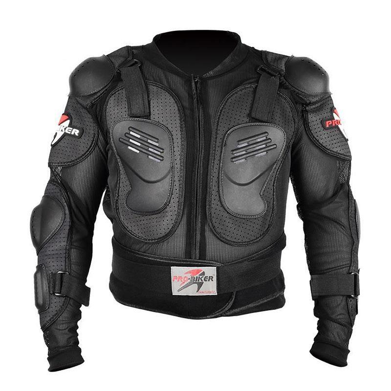 2020 chaqueta de la motocicleta de los hombres de cuerpo completo de la motocicleta del motocrós Armour Racing Moto tamaño de la chaqueta del montar a caballo de Protección Moto M-4XL