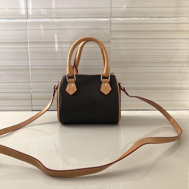 2020 Neuer heißer Verkauf Klassiker Hochwertige Damen Echtes Leder Mini Bag Oxidation Luxus Handtasche Kissen Umhängetasche Brieftasche Kostenloser Versand