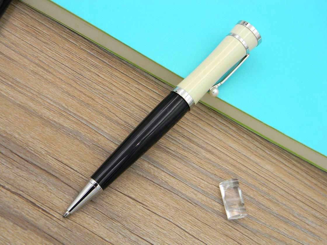 Office Standard Standard Fournitures Entreprises Métal Silver En Acier Inoxydable Cadeau Classic Cadeau Stylo