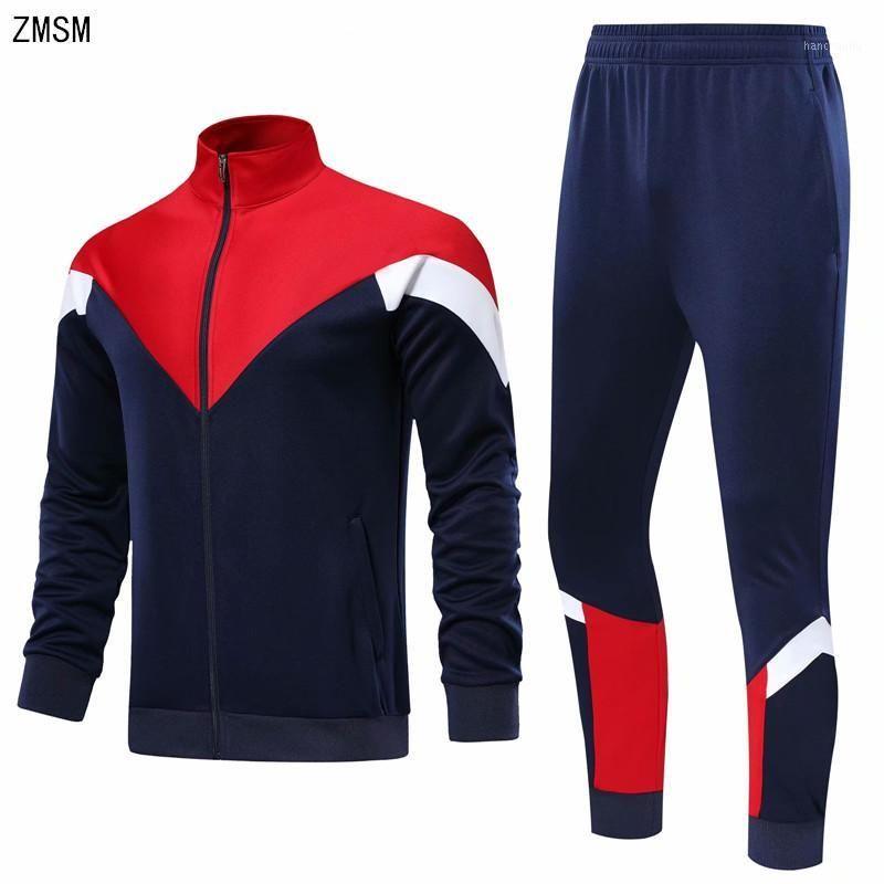 Молодежь бегущие куртки брюки установить женщин мужчины пустые трексекты футбол баскетбол тренировочный костюм дома бегагинг на открытом воздухе Sportswear1