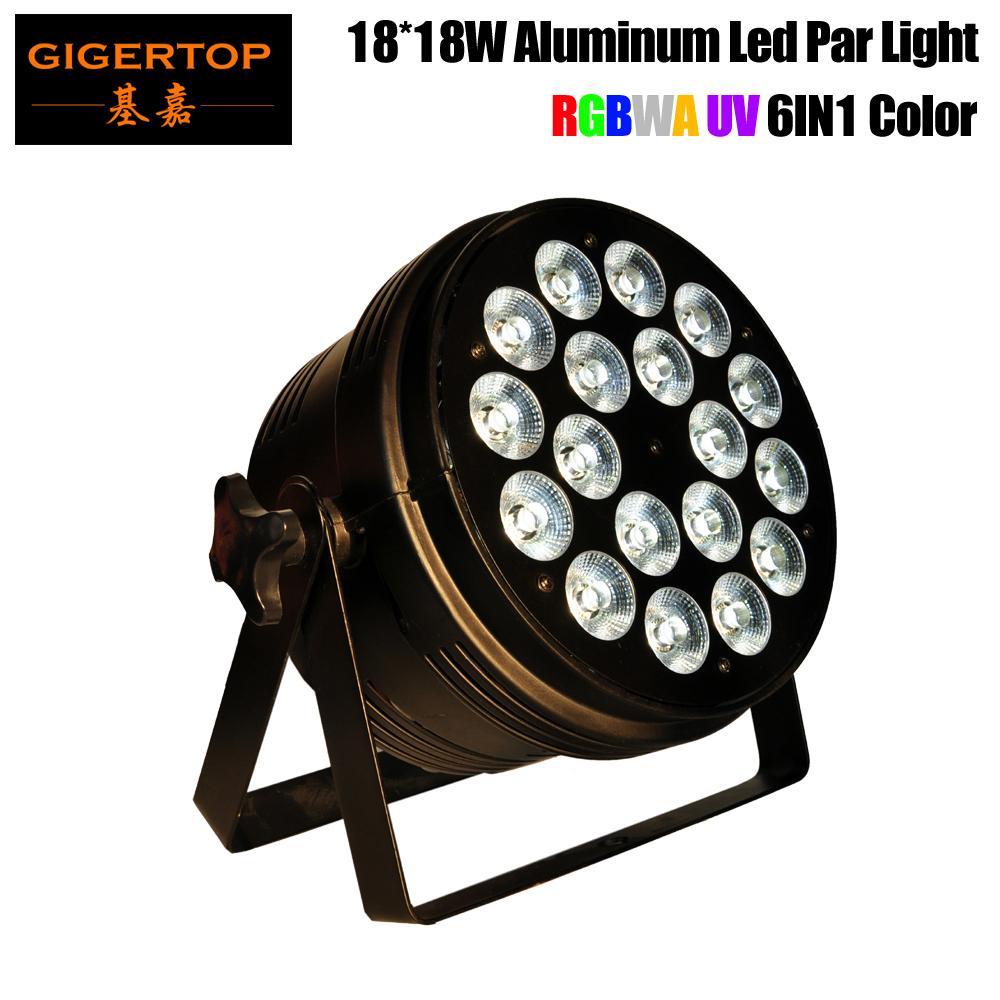 18X18W RGBWA+UV non waterproof led Par Light, IP65 LED PAR DMX LED wash light professional stage DJ equipment disco light