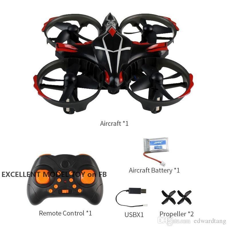 JJRC H56 Mini RC-Flugzeug-Drohne, Infrarot-Sensor-UFO, 360 ° Flip-UAV, 3 Gänge Geschwindigkeit, Höhenhalterung Quadcopter, Kinder Weihnachten Geburtstagsgeschenke, 2-2