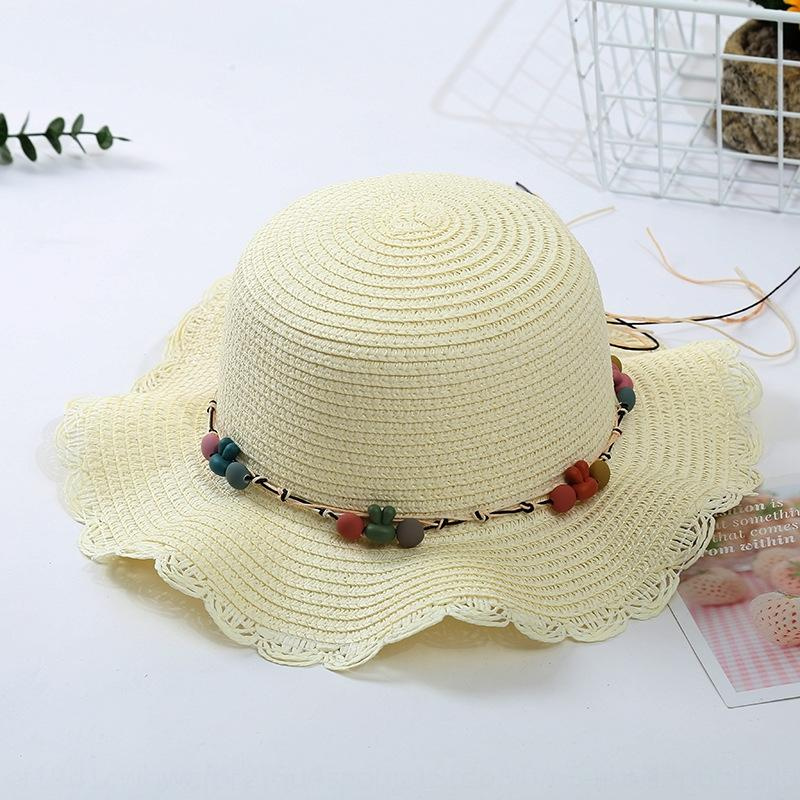 MRbNr New Beach Women's summer Sunshade hat Korean version wave edge small fresh sun visor for holiday
