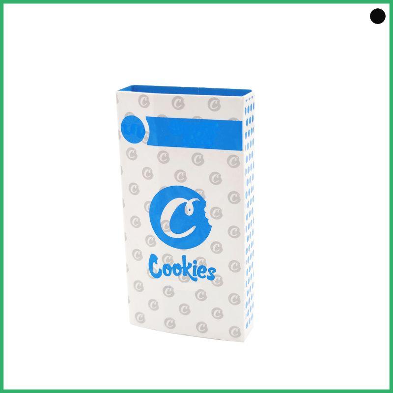 Penna Vape New Biscotti Carrello in ceramica Gram CO2 Oil Oil Vetro Vaporizzatore 0.8ml Serbatoio Dank Dank Vape Carts Cooky Atomizzatore OEM Brand Logo