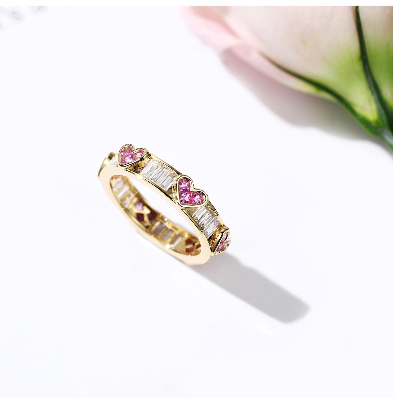 18 Karat Gold Ewigkeit Labor Rubin Diamant Ring 925 Sterling Silber Engagement Hochzeit Band Ringe Für Frauen Edelsteine Party Schmuck Geschenk 1012
