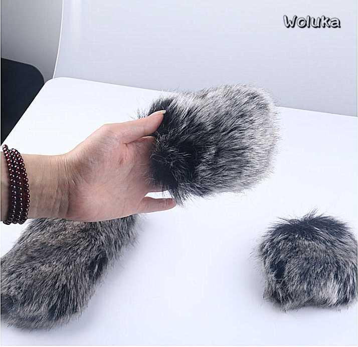 11-19CM caméra microphone bouclier de vent cheveux en plein air interview de microphone caméra intérieur bouclier de vent T18