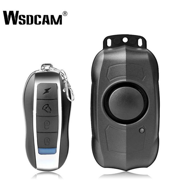 USB de charge Télécommande sans fil Vibration Alarme vélo moto électrique de voiture Alarme de sécurité du véhicule pour l'alarme Sensor Accueil