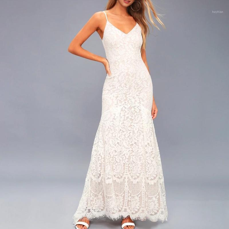 Dressv süße abendkleider lange 2020 spitze einfache bodenlangen elegante dating süße hohl mode abend party dress frauen1