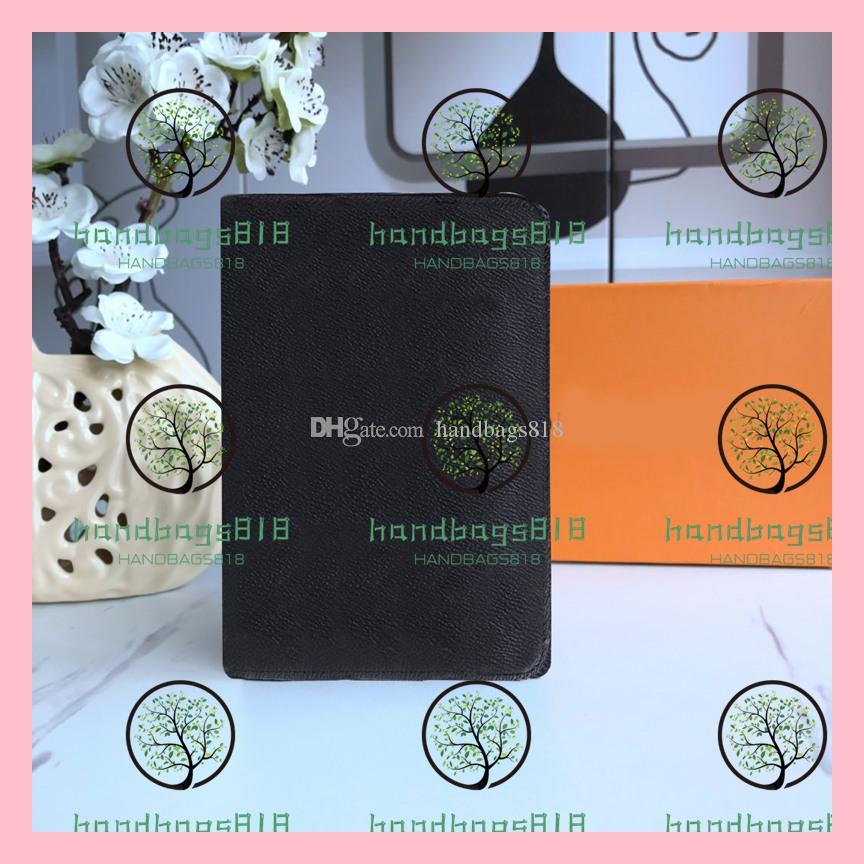Hombre para mujer Pasaporte Tarjeta de diseñador Tarjeta de la tarjeta del diseñador Holder Holder Holder Passport Cardholder Hombre Cartera Cubierta Cuero Arfxk