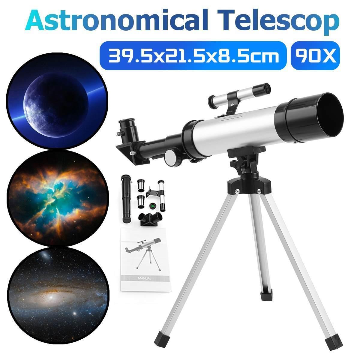 Teleskopi HD Yakınlaştırma Monoküler Ile Tripod Refraktif Uzay Astronomik Teleskop Seyahat Açık LJ201120 için Spotting Kapsam