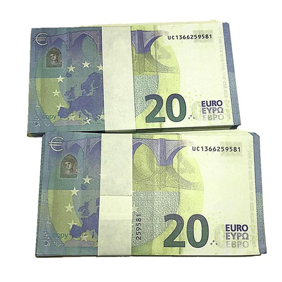 Bar Requisiten Movie Magic Show Requisiten 100 Rechnungen Euro Spielzeug Währungsparty Fake Geld Kinder Geschenke Großhandel I9