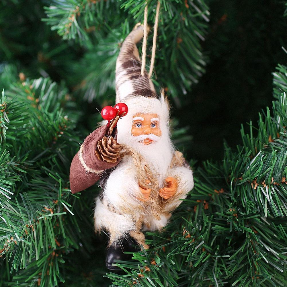 Рождественский декор дерево конфеты мешок украшения Xmas Декор Санта-Клаус партии. yaTR #