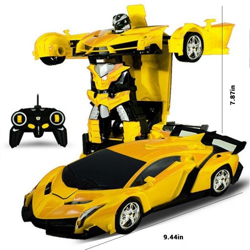 Rc سيارة سيارة نموذج الروبوتات اللعب الرياضية سيارة روبوت نموذج التحكم عن سيارة rc القتال الاطفال اللعب هدايا عيد Y200413