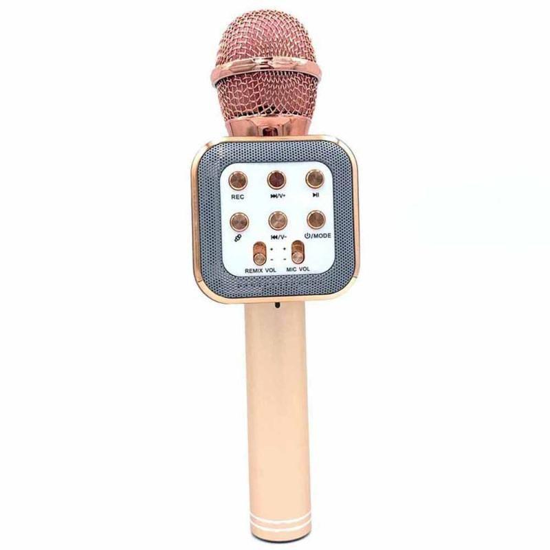 WS 858 kablosuz USB mikrofon profesyonel kondansatör karaoke mikrofon bluetooth standı radyo mikrofon stüdyo kayıt stüdyosu WS858
