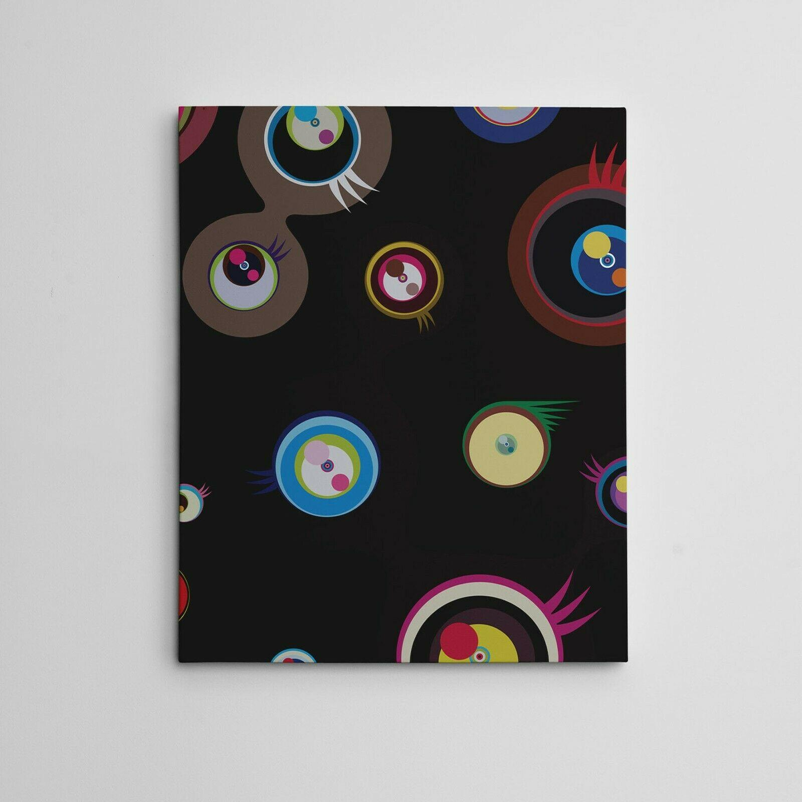 Takashi Murakami Jellyfish Eyes Fantasy Home Decor Handcrafts /HD Print Oil Painting On Canvas Wall Art Canvas Pictures , F210111